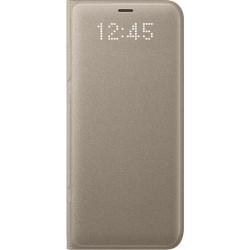 Samsung LED flipové púzdro EF-NG950PF pre Galaxy S8 Gold