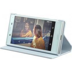 Štýlový kryt Sony SCSF20 pre Xperia X Compact, Mist blue