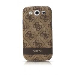 Púzdro Guess GUS34GBR Samsung Galaxy S3, hnedé