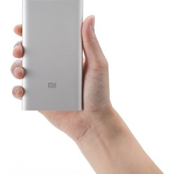 Xiaomi Mi PowerBank 5000 mAh Strieborná