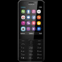 Nokia 230 Dual SIM Tmavo strieborný