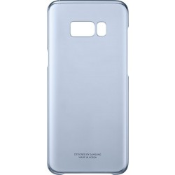 Samsung Clear púzdro EF-QG955CL pre Galaxy S8+ Blue