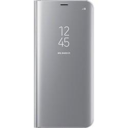 Samsung Clear View púzdro EF-ZG955CS pre Galaxy S8+ Silver