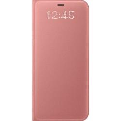 Samsung LED flipové púzdro EF-NG950PP pre Galaxy S8 Pink
