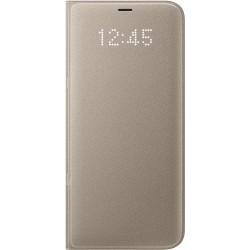 Samsung LED flipové púzdro EF-NG955PF pre Galaxy S8+, Gold