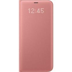 Samsung LED flipové púzdro EF-NG955PP pre Galaxy S8+, Pink