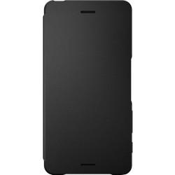 Štýlový flipový kryt Sony SCR58 pre Xperia X Performance, Graphite Black