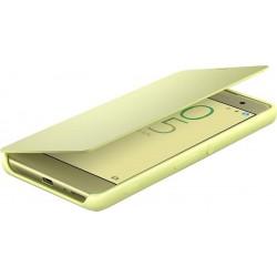 Štýlový otvárací kryt Sony SCR54 pre Xperia XA, Lime Gold