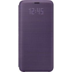 Samsung LED flipové púzdro EF-NG960PV pre Galaxy S9 Fialové