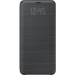 Samsung LED flipové púzdro EF-NG965PB pre Galaxy S9+ Čierne