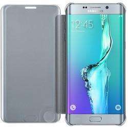 Samsung Clear púzdro EF-ZG928CS pre Galaxy S6 Edge+, Strieborné