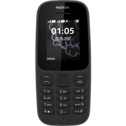 Nokia 105 DS 2017 Čierny