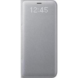 Samsung LED flipové púzdro EF-NG950PS pre Galaxy S8 Silver