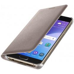Samsung flipové púzdro EF-WA310PF pre Samsung Galaxy A3 (2016) Zlatý