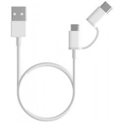 Xiaomi USB kábel  ( micro USB to Type C ) 30cm