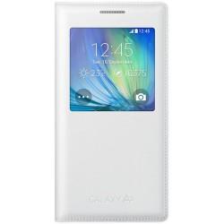 Samsung flipové púzdro S-view EF-CA500B pre Samsung Galaxy A5 (SM-A500) Biela