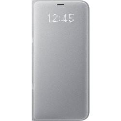 Samsung LED flipové púzdro EF-NG955PS pre Galaxy S8+, Silver