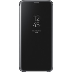 Samsung Clear View púzdro EF-ZG960CB pre Galaxy S9, čierne