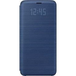Samsung LED flipové púzdro EF-NG960PL pre Galaxy S9 Modré